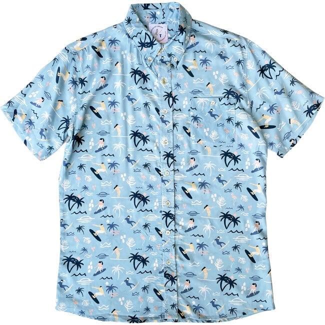 Men's Surfs Up BBQ Shirt