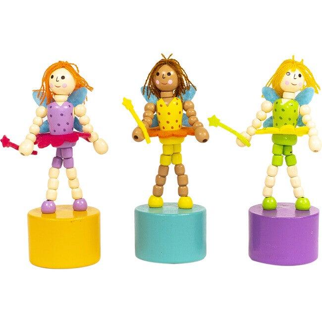 Fairy Push Puppets, Set of 3