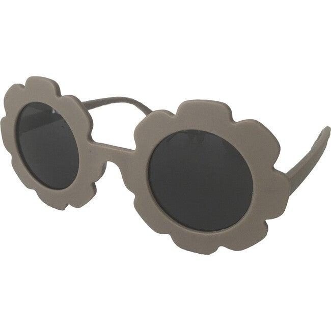 Grey Flower Sunglasses