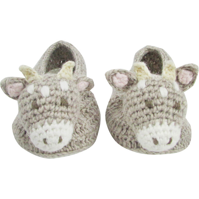 Crochet Connie Cow Booties