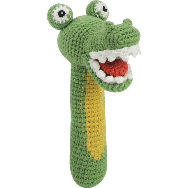 Crochet Cleo Croco Rattle