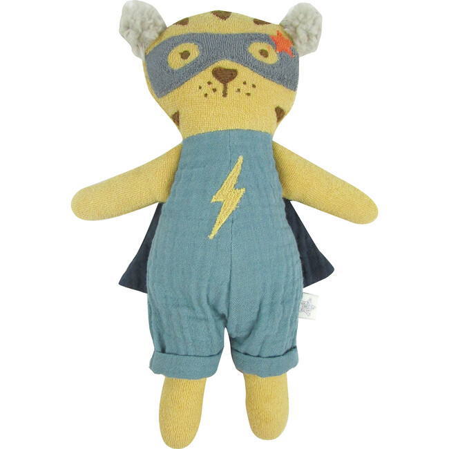 Tiger Super Hero Doll - Rattles - 1