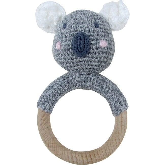 Crochet Koala Ring Rattle Teether