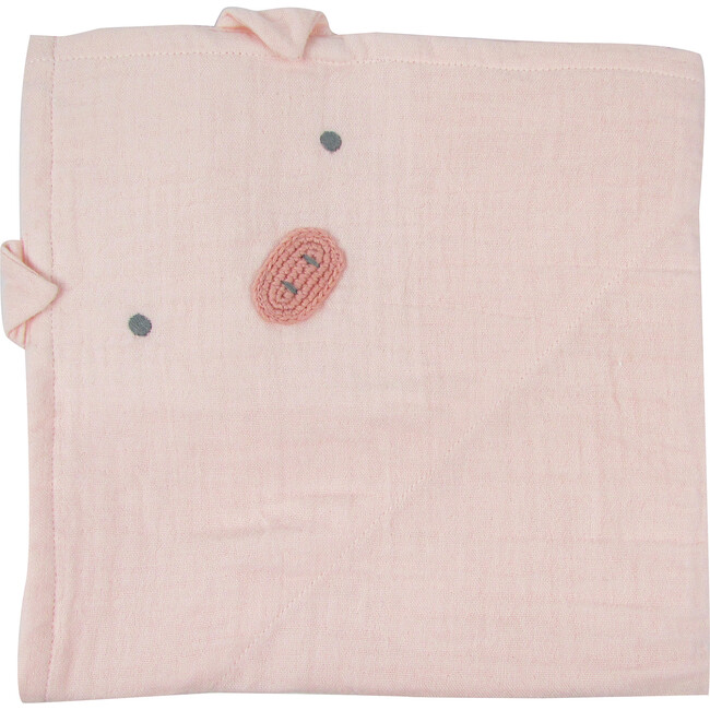 Pig Muslin Swaddle Blanket