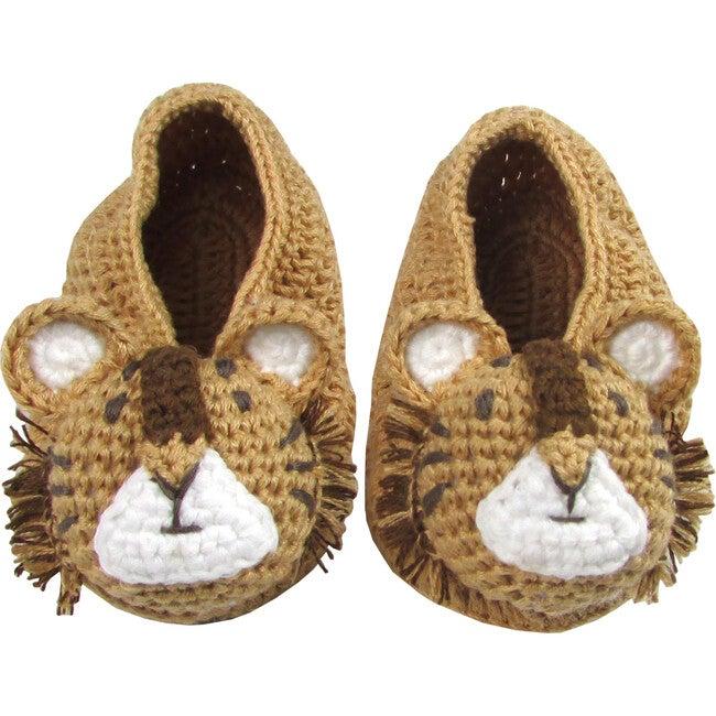 Crochet Tiger Booties