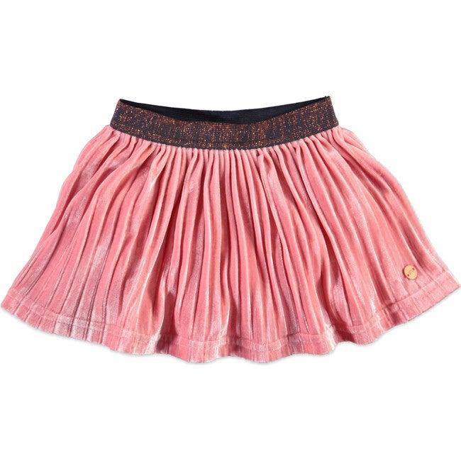 Accordion Skirt, Pink - Skirts - 1