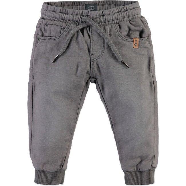 Joggers, Grey - Sweatpants - 1