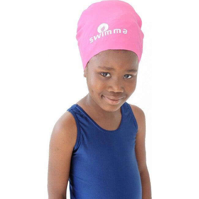 Afro-kids Swimcap, Pink