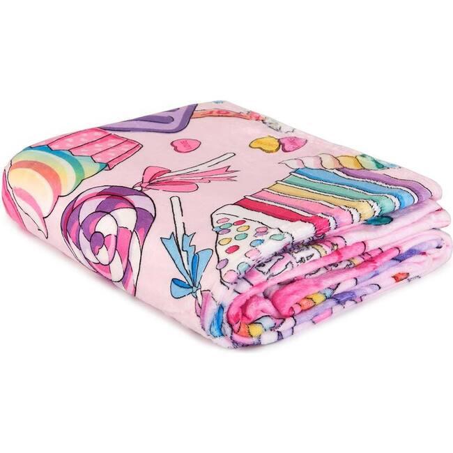 Miss Gwen's Sweet Treats Print Blanket, Multi