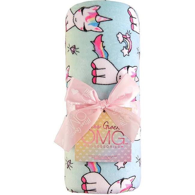 Lil' Miss Gwen Ombre Print Blanket, Ombre