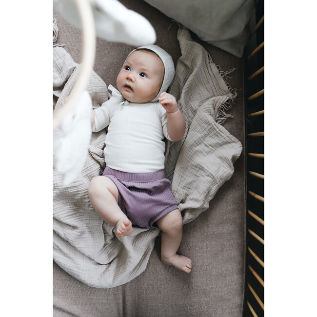 Ribbed Bloomers, Violet