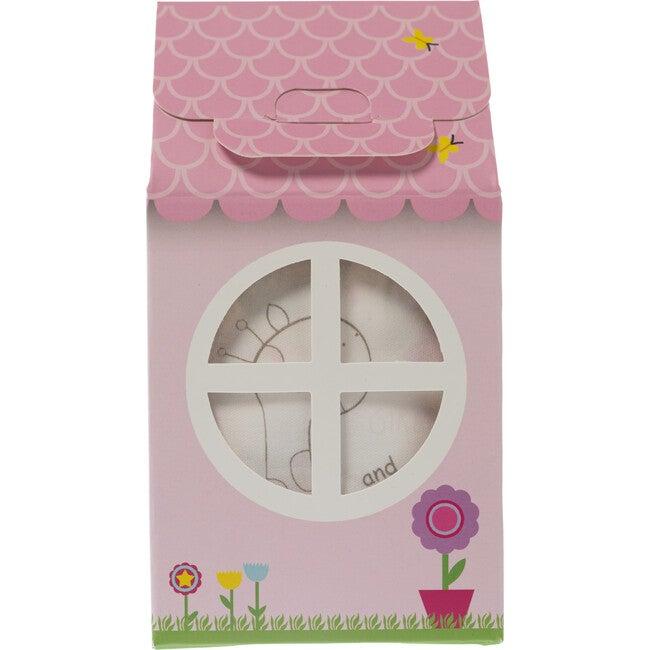 Patisserie Collection  3 Piece Layette Gift Set, Pink Giraffe
