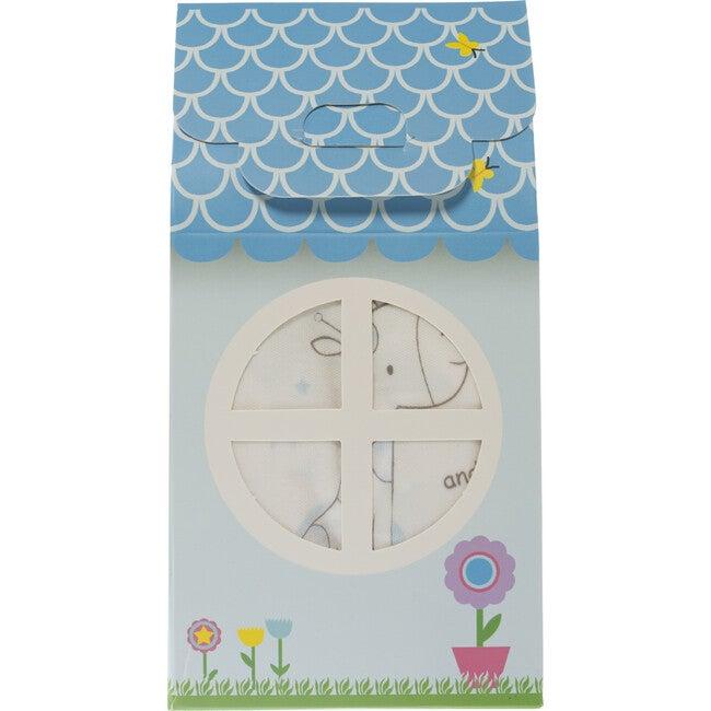 Patisserie Collection 3-Piece Layette Gift Set, Blue Giraffe