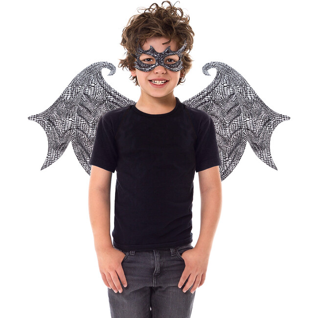 Black Dragon Wings and Mask