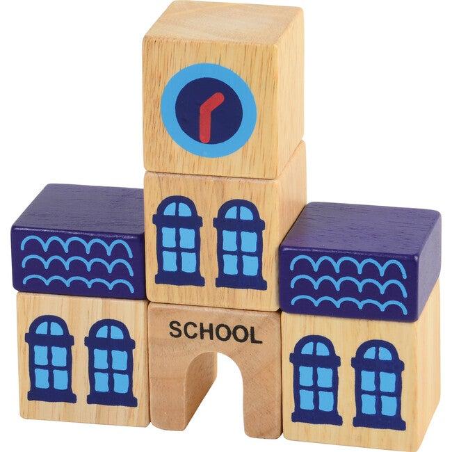 Build A City Block Set, Multicolor
