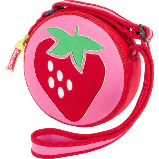 Strawberry Crossbody Purse, Red