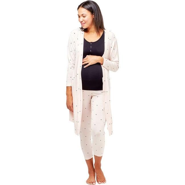 Women's Second Skin Robe, Dots