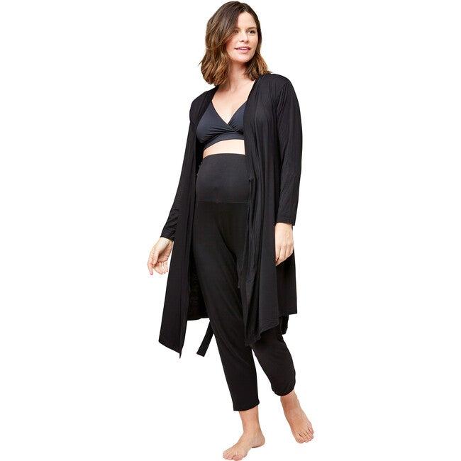 Women's Second Skin Robe, Black