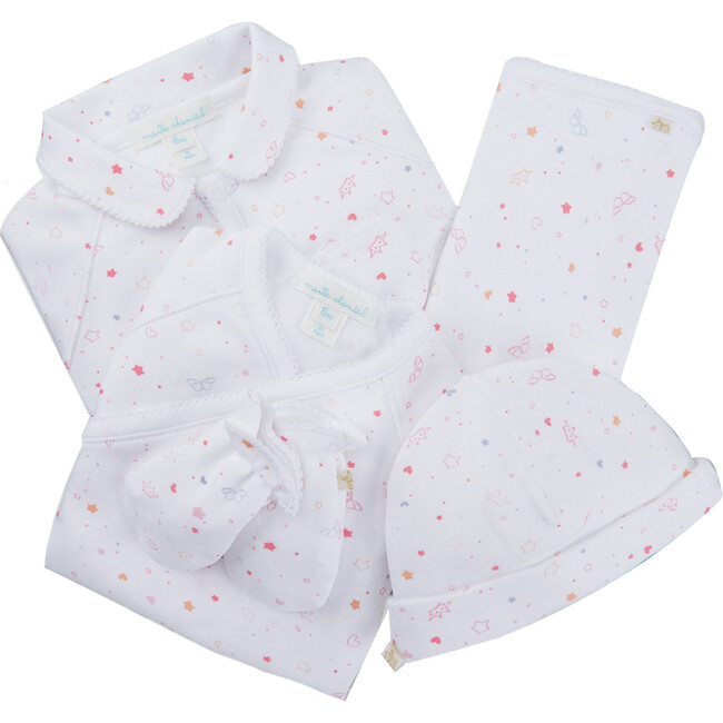 Star & Crown Print Essentials Gift Set, Pink