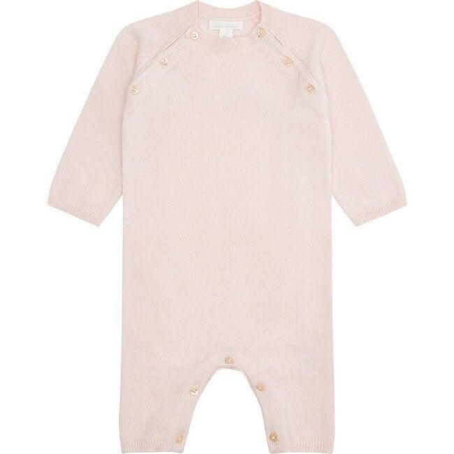 Ariel Cashmere Romper in Pink