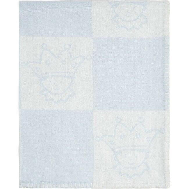 Lightweight Tino Blanket in Blue