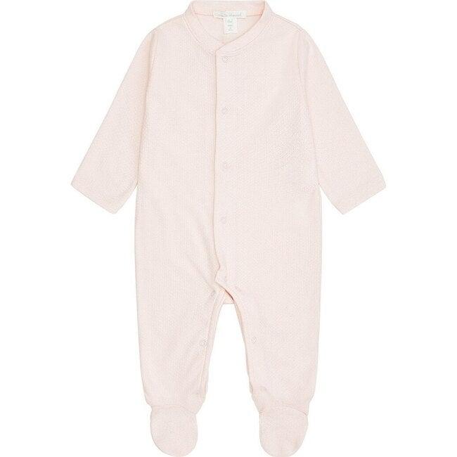 Pointelle Angel Wing Sleepsuit in Pink