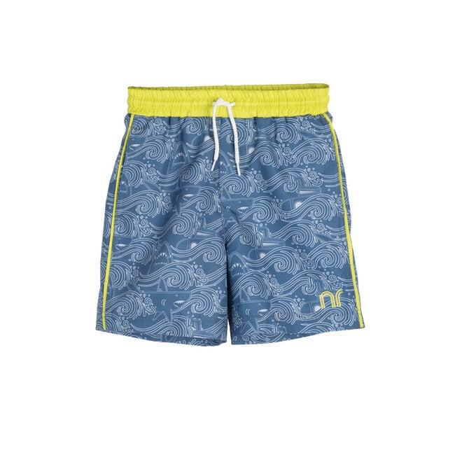 Jax Swim Trunk, Blue Shark