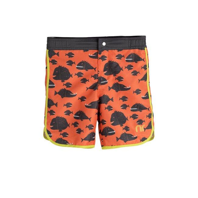 Ace Swim Trunk, Red Fish