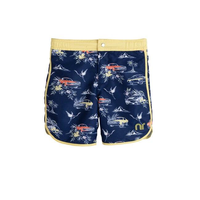 Ace Swim Trunk, Car Navy