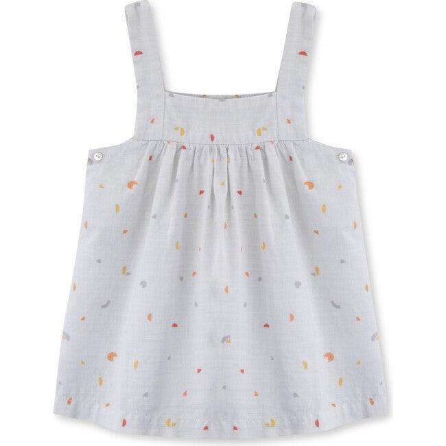 Baby Pinafore Cotton Music Dress, Multi