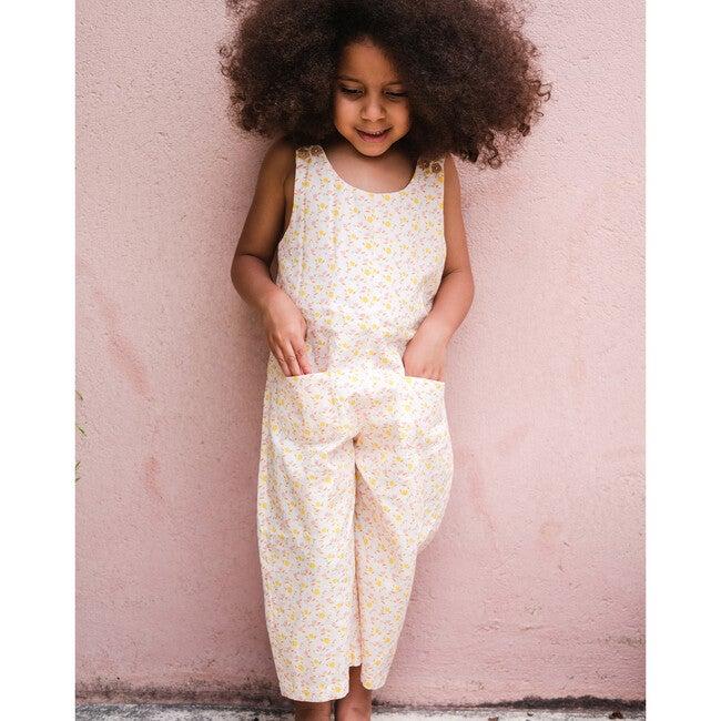 Organic Cotton Jumpsuit, Florals