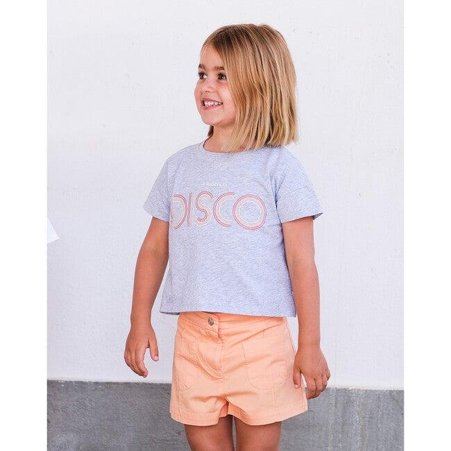 Olivia Twill Shorts, Orange
