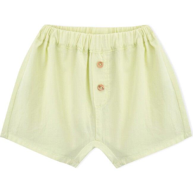Baby Eric Shorts, Yellow Green