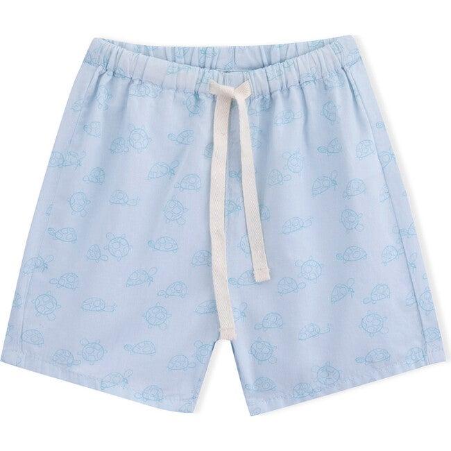 Baby Turtle Shorts, Light Blue