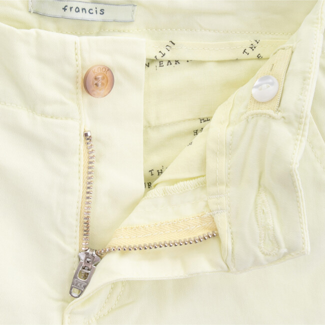 Twill Francis Shorts, Yellow Green