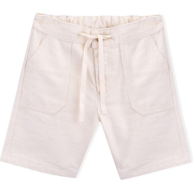 Twill Kevin Shorts, Cream