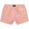 Swim Shorts, Coral Stripes - Swim Trunks - 3