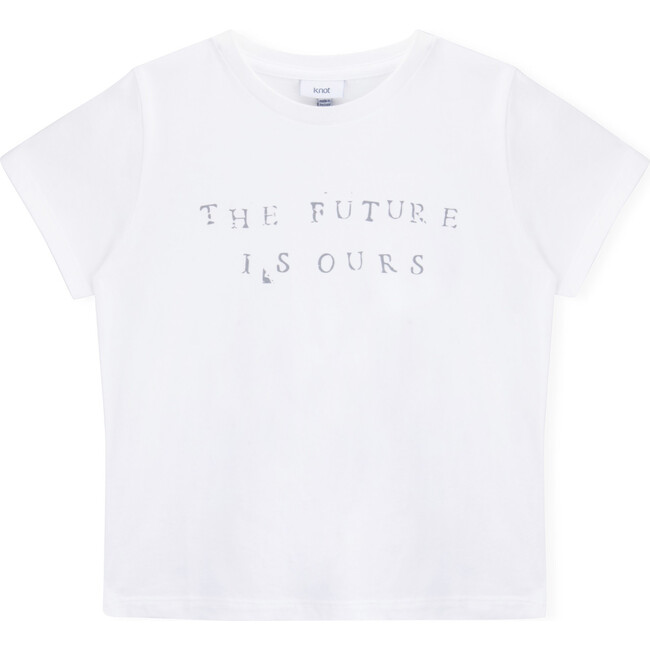 The Future is Ours T-Shirt, White