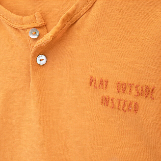 Play Outside Instead T-Shirt, Gold