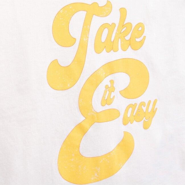 Take It Easy T-Shirt, White