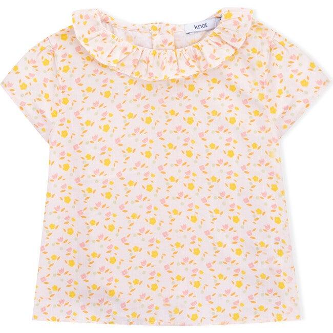 Baby Blouse Organic Cotton Flower Power, Florals