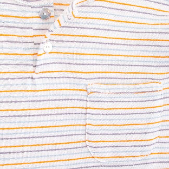 Long Sleeve Pocket T-shirt, Stripes