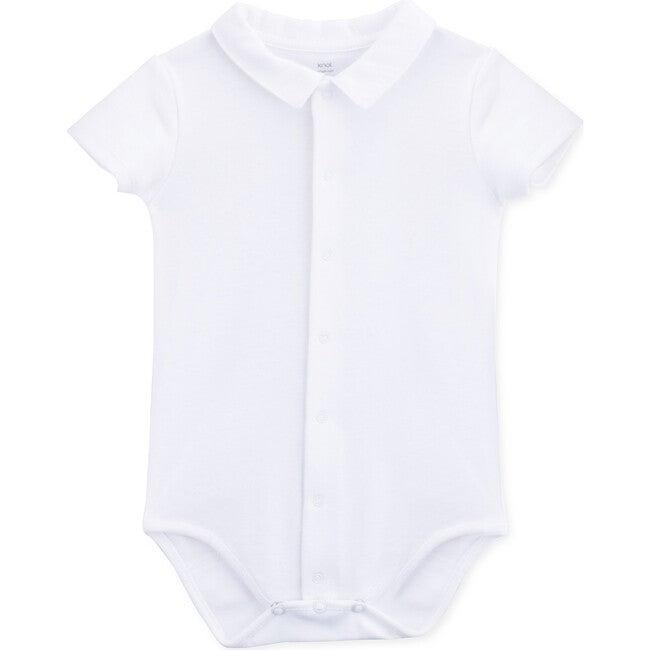 Baby Body Short Sleeve Tom, White