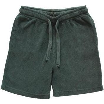 Bouclette Short, Khaki - Shorts - 1