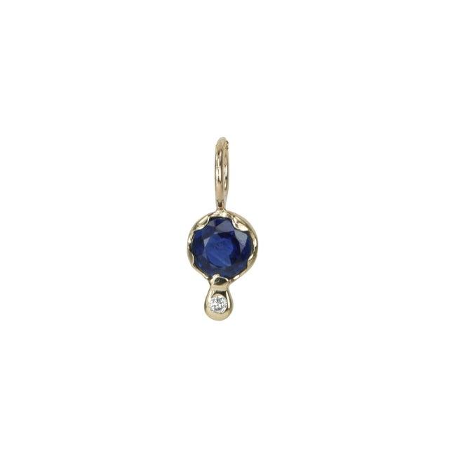 Gemstone Amulet, Sapphire