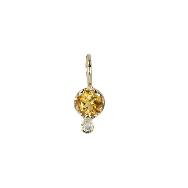 Gemstone Amulet, Citrine