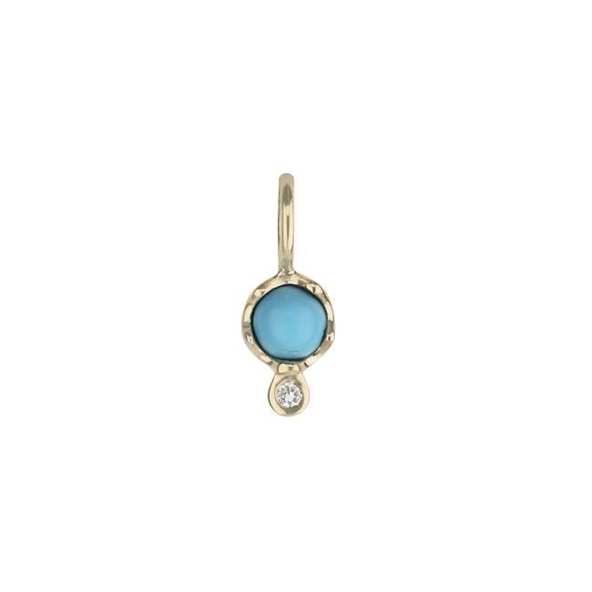 Gemstone Amulet, Turquoise
