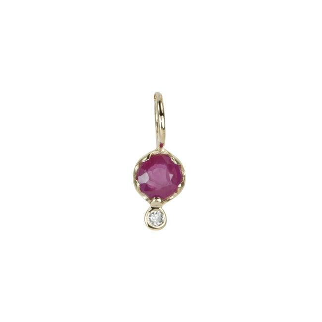 Gemstone Amulet, Ruby