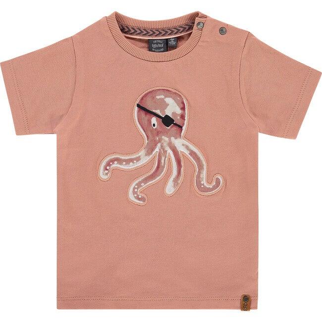 Octopus Tee, Salmon