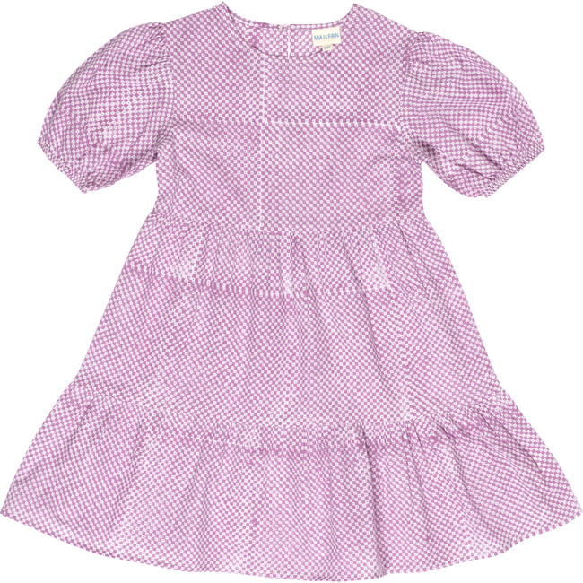 Paulette Girls Nap Dress, Pink